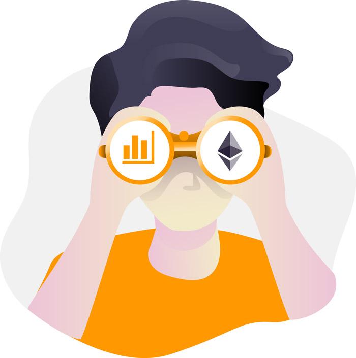 Ethereum kaufen oder nicht Illustration