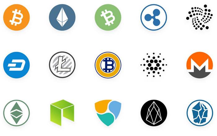 Liste an Kryptowährungen